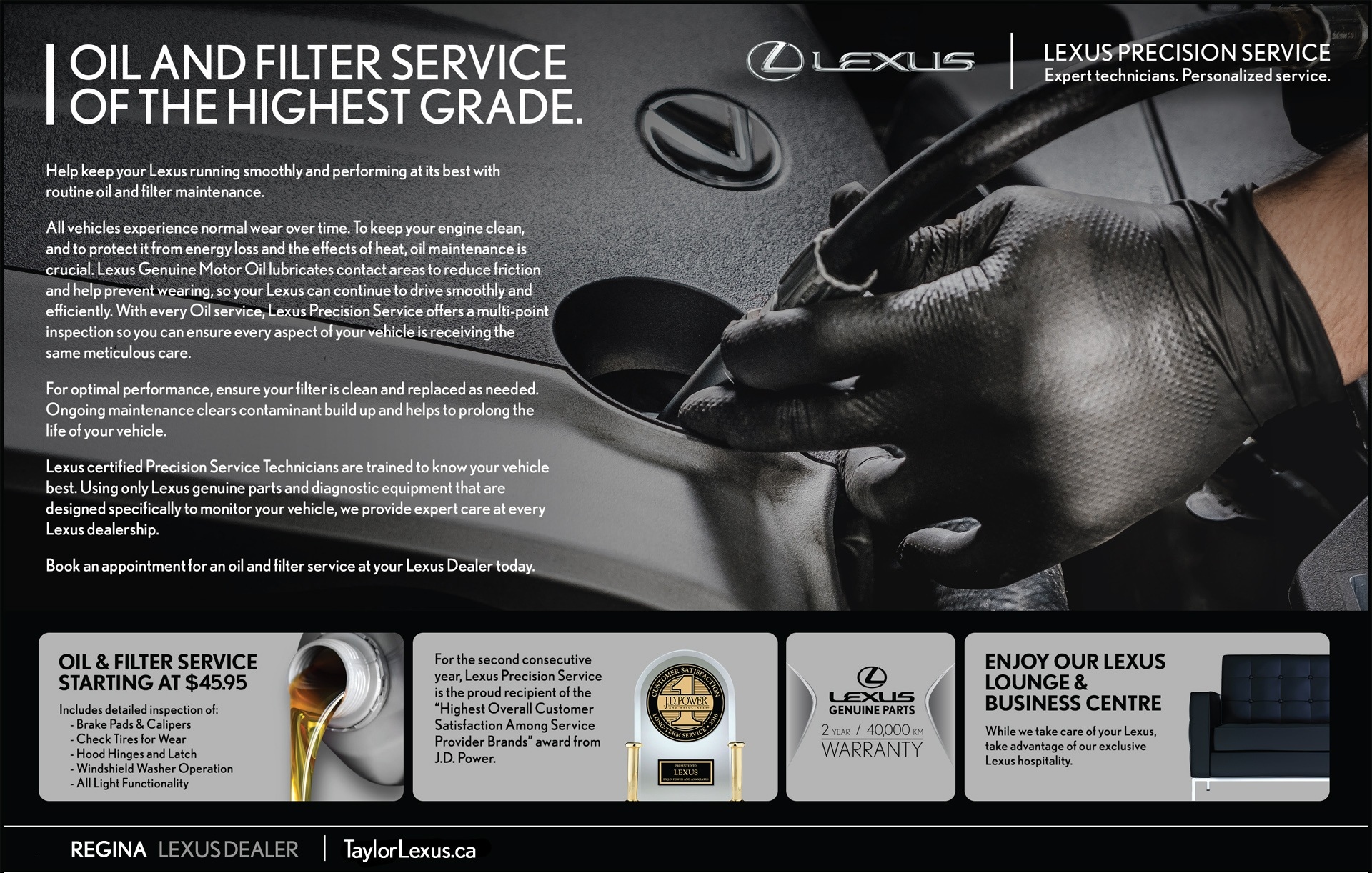 Help Keep Your Lexus Running Smooth