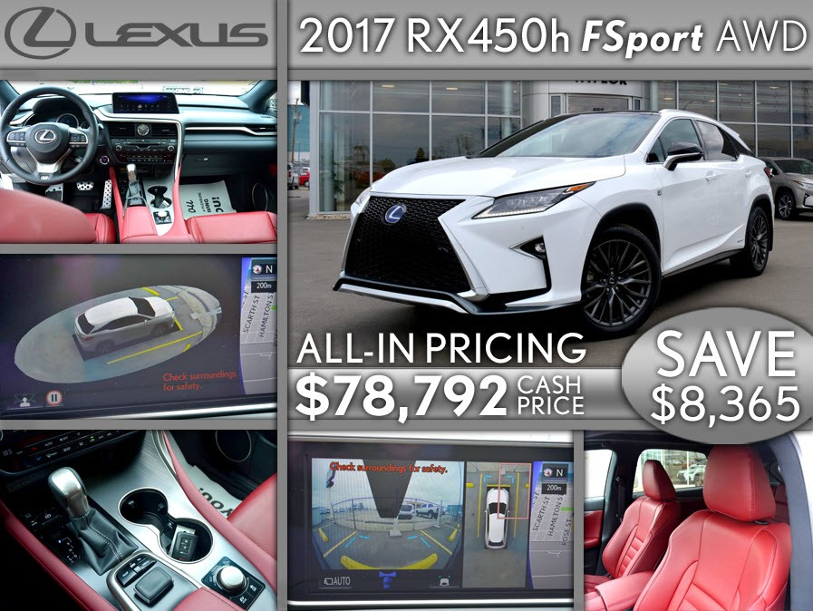 2017 RX450h FSport AWD
