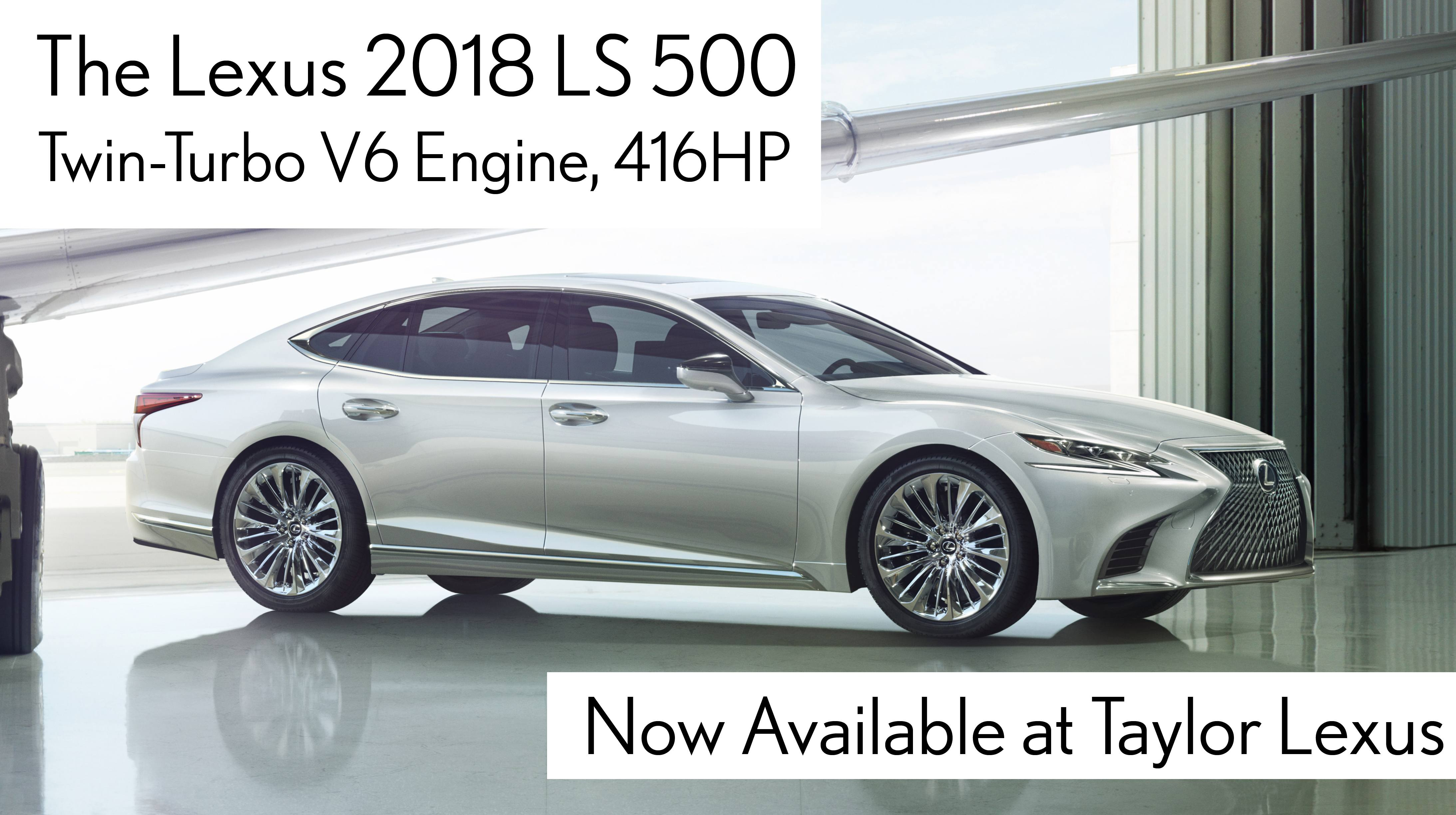 All-New 2018 LS500