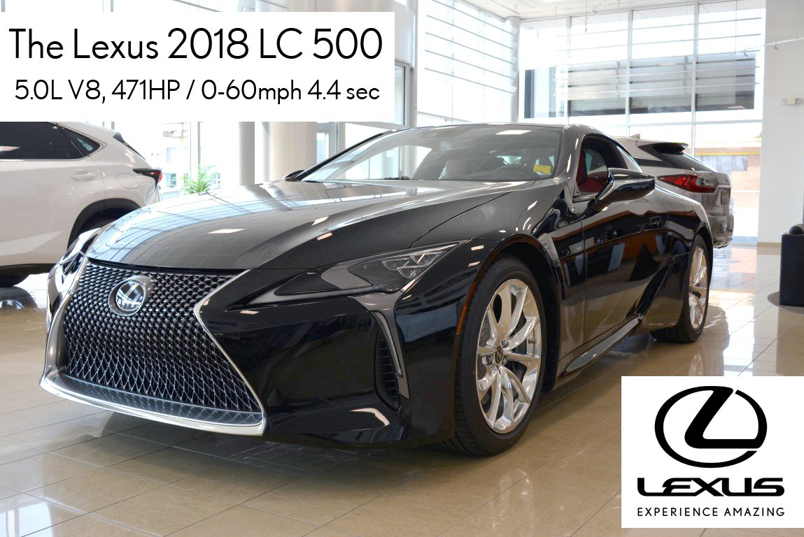 LC500 – Pure performance, handling and luxury
