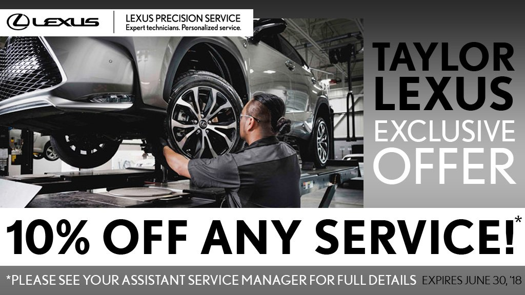 Taylor Lexus Exclusive Offer