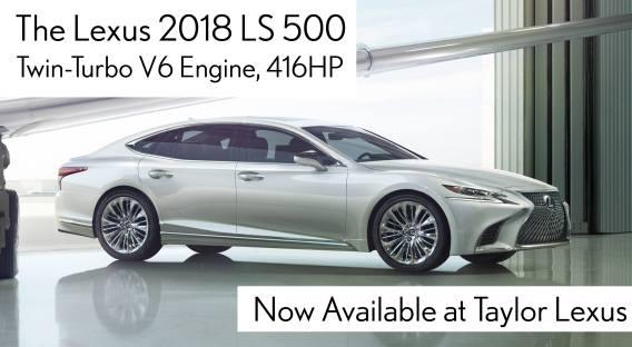 All-New 2018 LS500