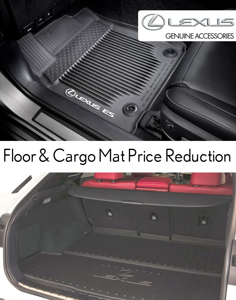 Floor & Cargo Mat Price Reduction