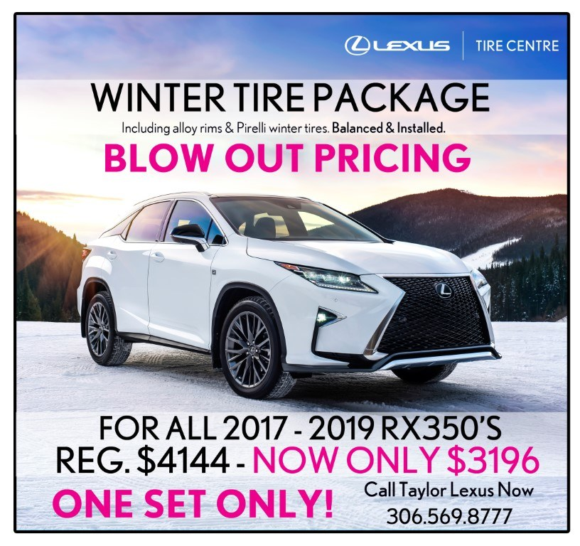 RX350 Winter Tire Package Blowout Special