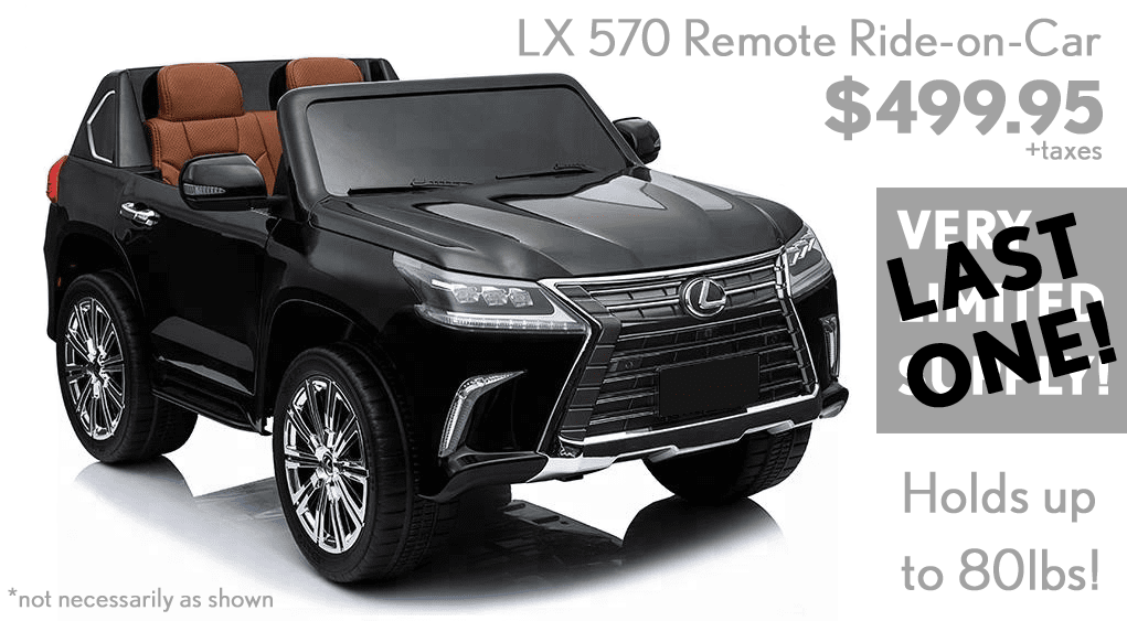 Take a (little) Lexus home today!