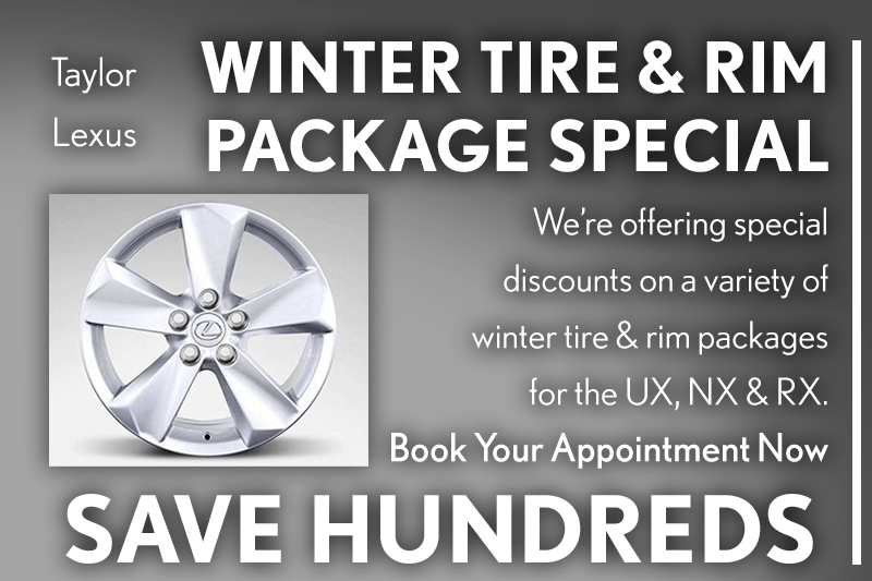 Winter Tire & Rim Package Offers