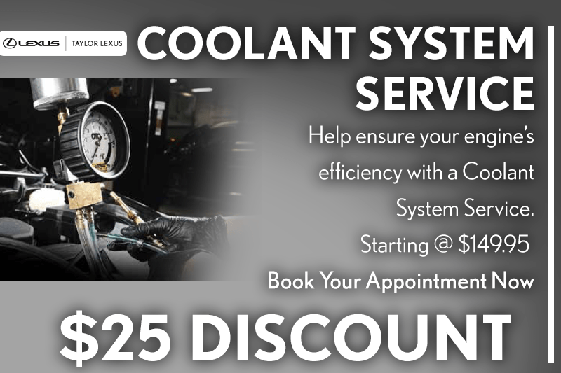 Coolant System Service Discount