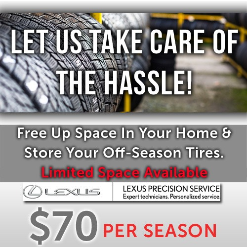 Tire Storage – Let's Free Up Some Space