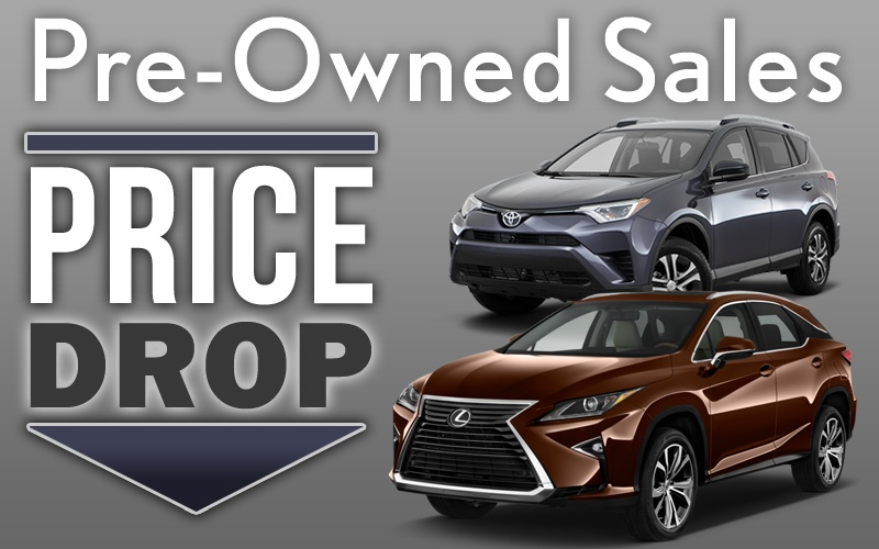 Pre-Owned Price Drop!