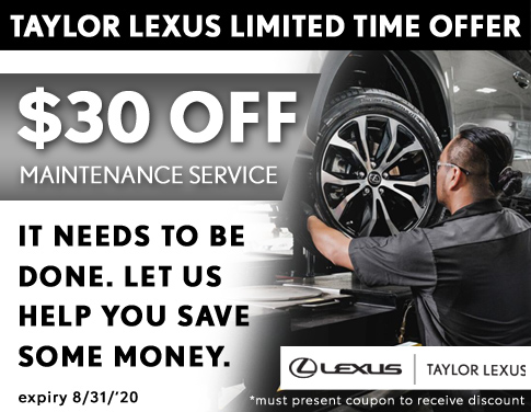 $30 Savings Offer on Required Vehicle Maintenance